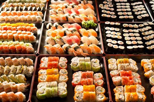 Sushi and Friends Berlin Buffet